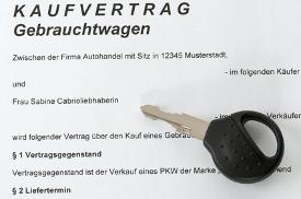 Auto Kaufvertrag - Muster kostenlos downloaden